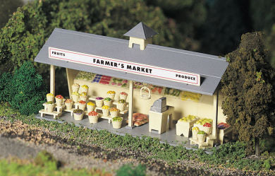 Bachmann 45621 O Plasticville Roadside Stand Classic Classic Building Kit