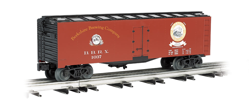 Williams 47463 O Berkshire Brewing Co. 40' 3-Rail Reefer