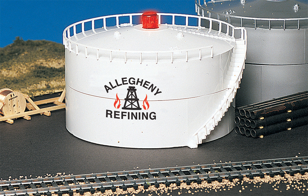 Bachmann 46219 HO Allegheny Oil Storage Tank with Flashing LED
