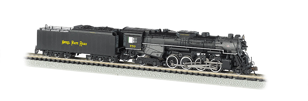 Bachmann 50952 N Nickel Plate 2-8-4 Berkshire Tender w/Sound & DCC #759
