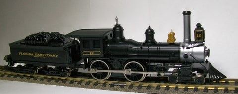 Bachmann 51129 HO Florida East Coast 4-4-0 American Steam Loco & Tender #12