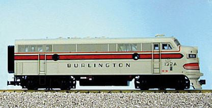 USA Trains 22366 G Chicago, Burlington & Quincy F-3A Diesel Locomotive