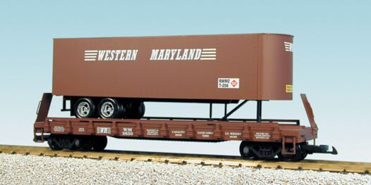 Other Ho Scale Sporting Old Ho Scale Tyco Santa Fe Cannister Truck Trailer
