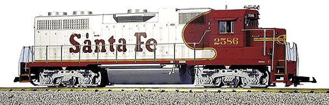 USA Trains R22212 G Santa Fe GP 38-2 Powered Diesel Locomotive #2586