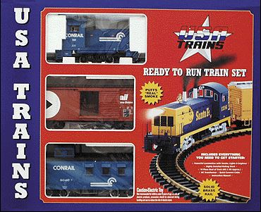 USA Trains 72103 G Conrail Mighty Moe Set