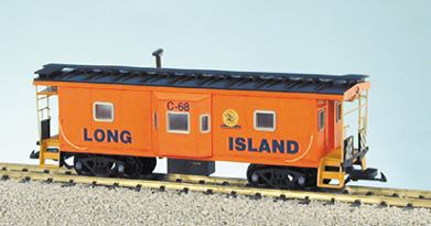 USA Trains R12074 G Long Island Railroad Bay Window Caboose