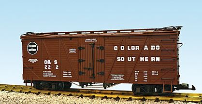 USA Trains 15011 G Colorado & Southern Outside Braced Wood Reefer