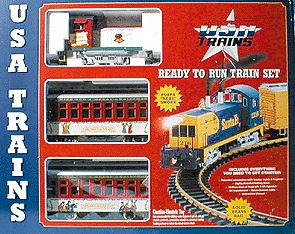 USA Trains 72105 G Christmas Mighty Moe Set