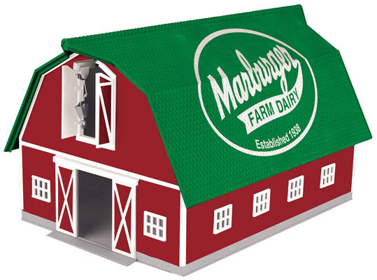 MTH 30-90497 O Marburger Dairy Barn with Light