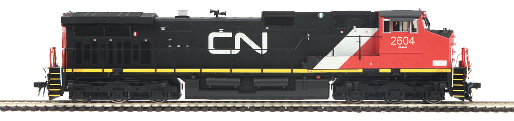 MTH 80-2290-5 HO Canadian National Dash-9 Diesel Engine with Proto-Sound 3E+ (3-Rail) #2604
