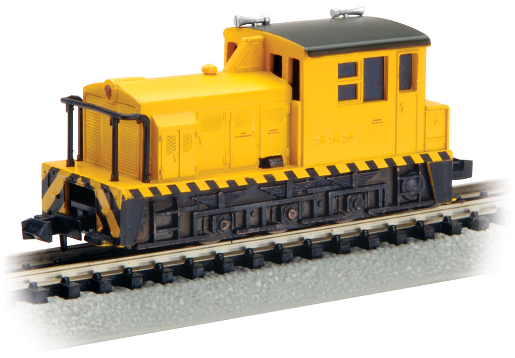 Bachmann 60089 N Painted & Unlettered Plymouth MDT Switcher Diesel Locomotive