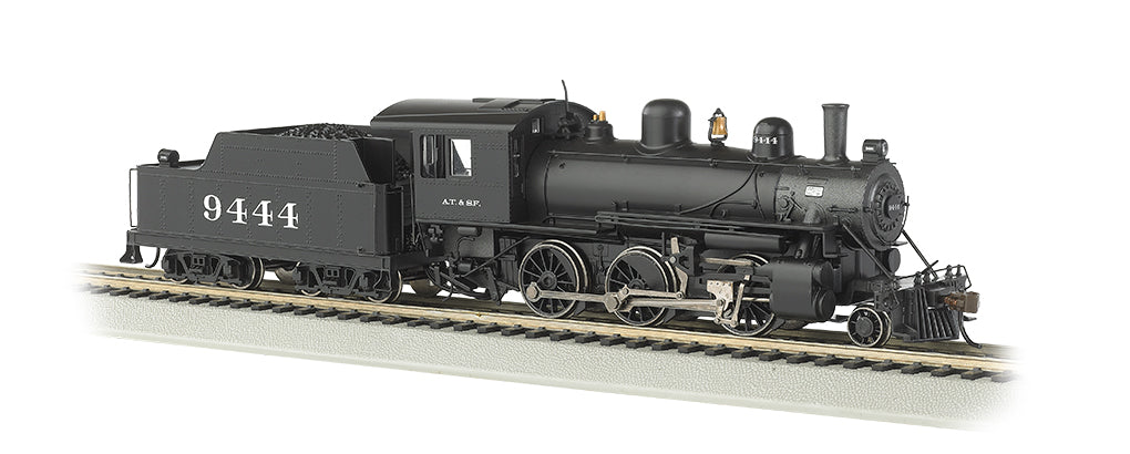 Bachmann 51710 HO Santa Fe Alco 2-6-0 Steam Locomotive & Tender #9444