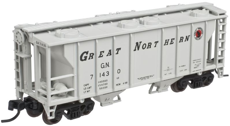 Atlas 50002112 N Great Northern PS-2 Covered Hopper #71430