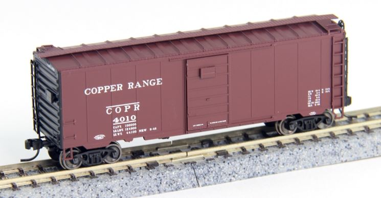 Atlas 50002345 N Copper Range PS-1 40' Boxcar with 6' Door #4010