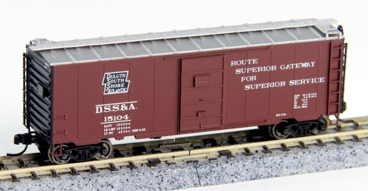 Atlas 50002347 N Duluth, South Shore & Atlantic PS-1 40' Boxcar with 6' Door #15104