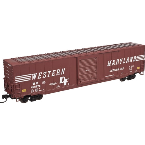 Atlas 50001991 N Western Maryland ACF 60' Single-Door Auto Parts Boxcar #495975