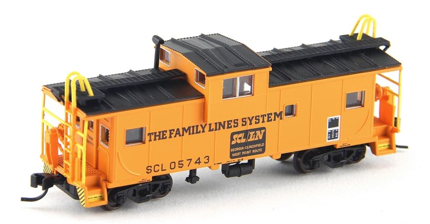 Atlas 50002029 N Family Lines Extended-Vision Caboose with Roofwalk #05743