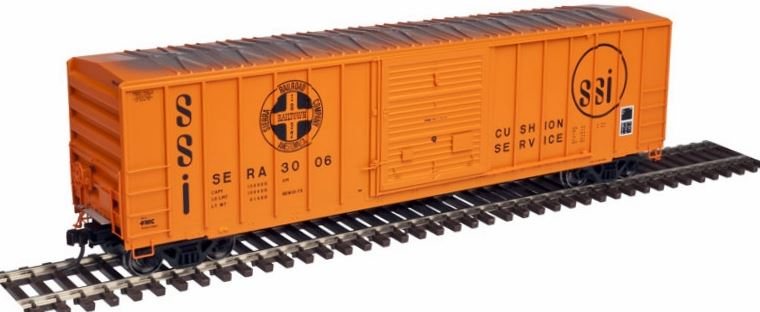 Atlas 20003340 HO Sierra Railroad FMC 5077 Single Door Boxcar Early Version #3006