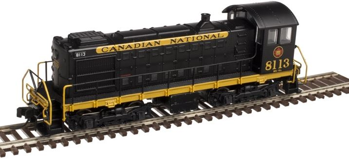 Atlas 40002123 N Canadian National Alco S2 Diesel Engine #8113