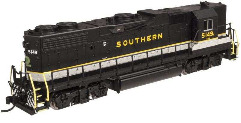 Atlas 40002325 N Southern GP38-2 High Nose Diesel Locomotive w/DB & DCC #5149