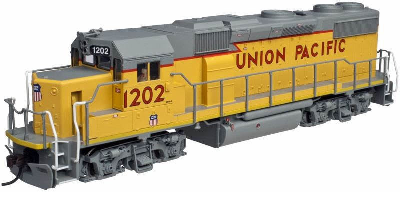 Atlas 10001780 HO Union Pacific EMD Phase II GP39-2 Diesel Engine #1202