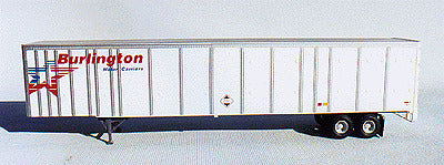 A-Line 50502 HO 53' White Bulington 53' Trailer
