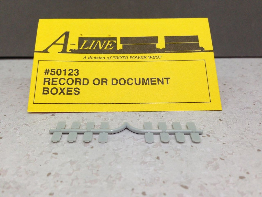 A-Line 50123 HO Record or Document Box (16)