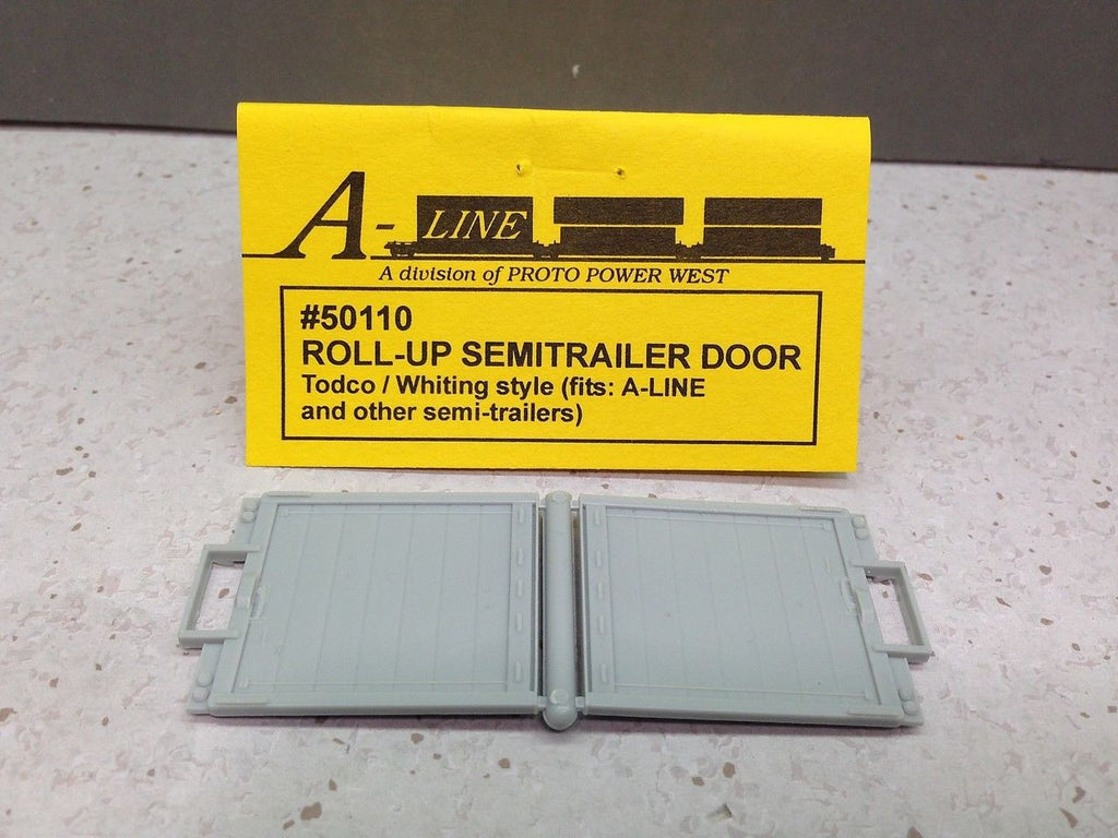 A-Line 50110 HO Roll-Up Semitrailer Door Todco/Whiting Style