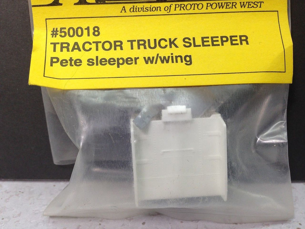 A-Line 50018 HO Sleeper For American Semi Tractors Peterbilt Style