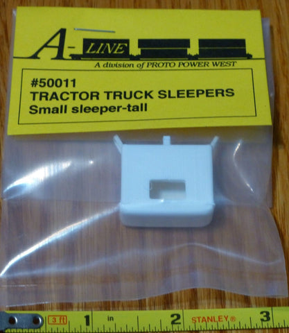 A-Line 50011 HO Sleeper For American Semi Tractors Small - Tall