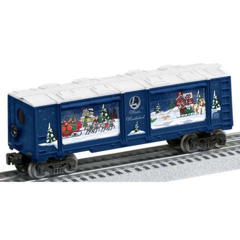 Lionel 6-82740 O Winter Wonderland Christmas Operating Aquarium 3-Rail Car