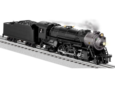 Lionel 6-81180 O Painted & Unlettered 2-8-2 Mikado 3-Rail w/Legacy Snd & Control