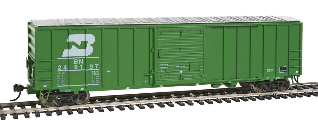 Walthers 910-2116 HO Burlington Northern 50' ACF Exterior Post Boxcar #249197