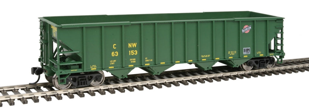 Walthers 910-1954 HO Chicago & North Western 50' 100-Ton 4-Bay Hopper #63153