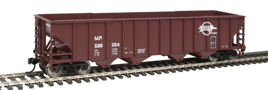 Walthers 910-1959 HO Missouri Pacific 50' 100-Ton 4-Bay Hopper - Ready to Run #588264