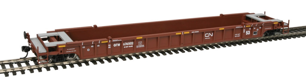 Walthers 910-5063 HO Canadian National Grand Trunk Western 53' NSC Well Car #676502