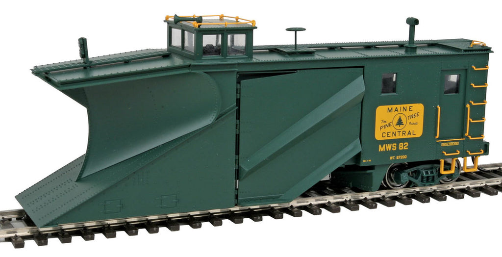 Walthers 920-110017 HO Maine Central Russell Snowplow - Ready to Run #MWS 82