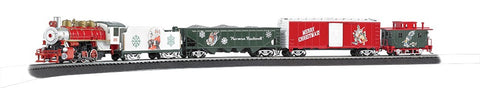 Bachmann 741 HO Norman Rockwell Christmas Train Set