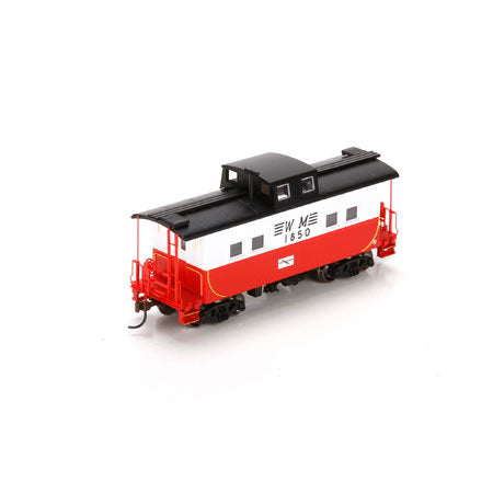 Athearn 74348 HO Western Maryland Window Eastern Caboose #1850