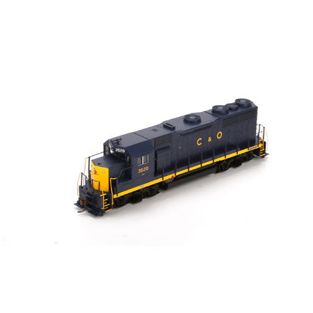 Athearn 74938 HO Chesapeake and Ohio GP35 #3520