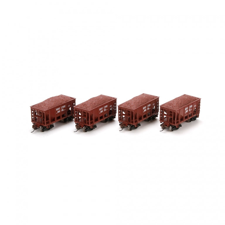 Athearn 87094 HO SOO 24' Ribbed Ore Car with Load #3 (4)