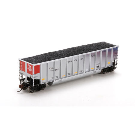Athearn 97859 HO Canadian National Bethgon Coalporter with Load #193005