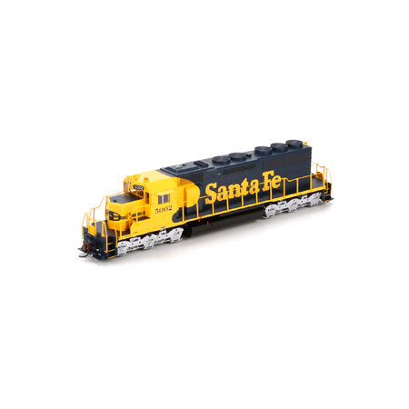 Athearn 98825 HO Santa Fe SD40 with DCC & Sound #5002