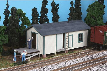 American Model Builders 484 Laser Art Elevated Warehouse O Scale Kit