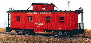 American Model Builders 859 Laser Art M-3 Caboose HO Scale Kit