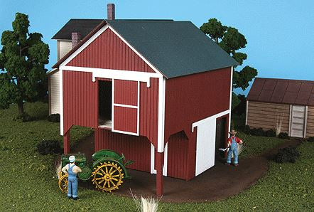 "American Model Builders 489 O Loft Barn Kit 6 x 4-1/4 x 6"" 15.2 x 10.7 x 15.2cm"