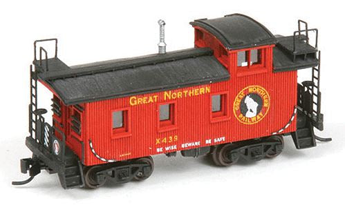 American Model Builders 550 N Great Northern 25' Wood Cupola Caboose Kit