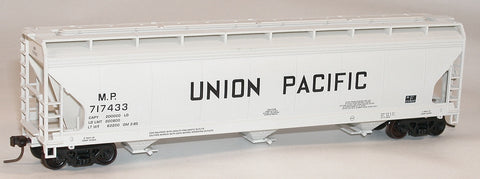 Accurail 2101 HO Union Pacific MP ACF 3-Bay Centerflow Hopper Kit