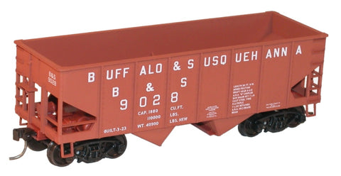 Accurail 2429 HO Buffalo & Susquehanna USRA 55-Ton Twin Hopper Kit