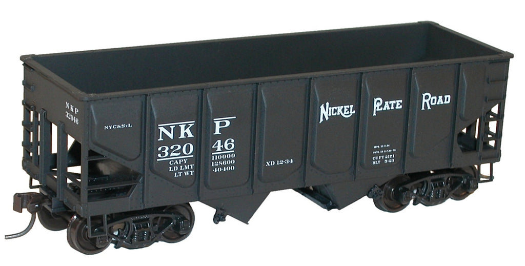 Accurail 2818 HO Nickel Plate Road 55-Ton Panel Side Twin Hopper Kit